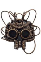 Robot Skull Mask (Copper)