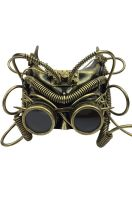 The Steampunk Knight Mask (Gold)
