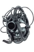 Industrial Figure Mask (Silver)
