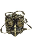 Industrial Bauta Mask (Gold)