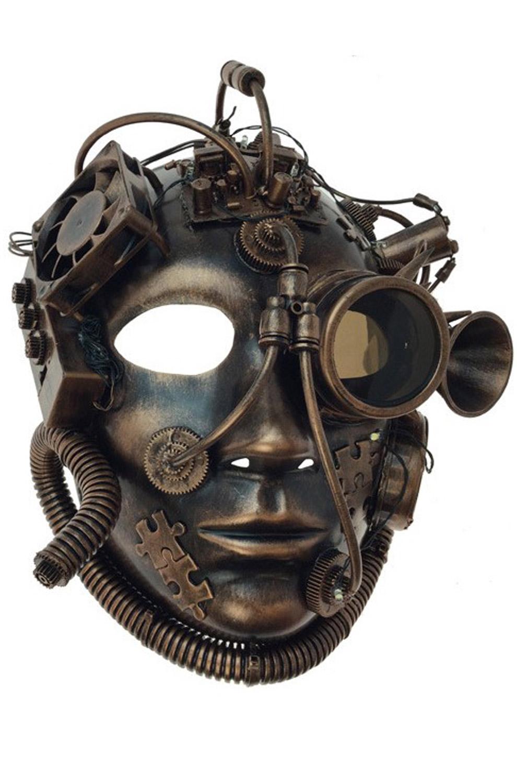 The Alchemist Mask Copper Purecostumes Com