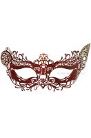 Winged Angel Venetian Mask (Red)