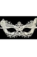 Winged Angel Venetian Mask (White)