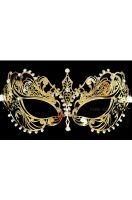 Empress Divine Venetian Mask (Gold)