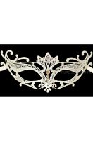 Princess Venetian Mask (White)