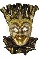 Majestic Jester Mask (Brown)