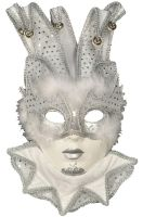 Snow Wolf Jolly Mask
