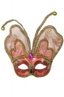 Venetian Butterfly Mask (Red)