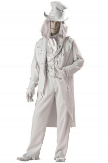 Expensive vs Affordable Costumes Ghostly Gent Adult Costume