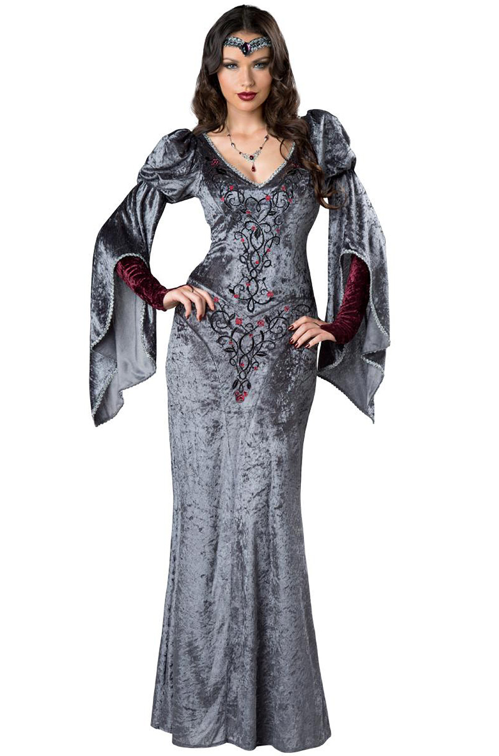 Dark Medieval Maiden Adult Costume