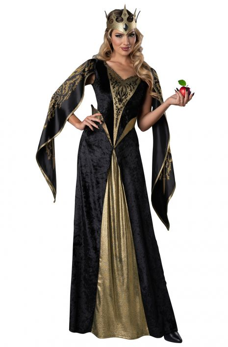 e82870a1666 Medieval Evil Queen Adult Costume