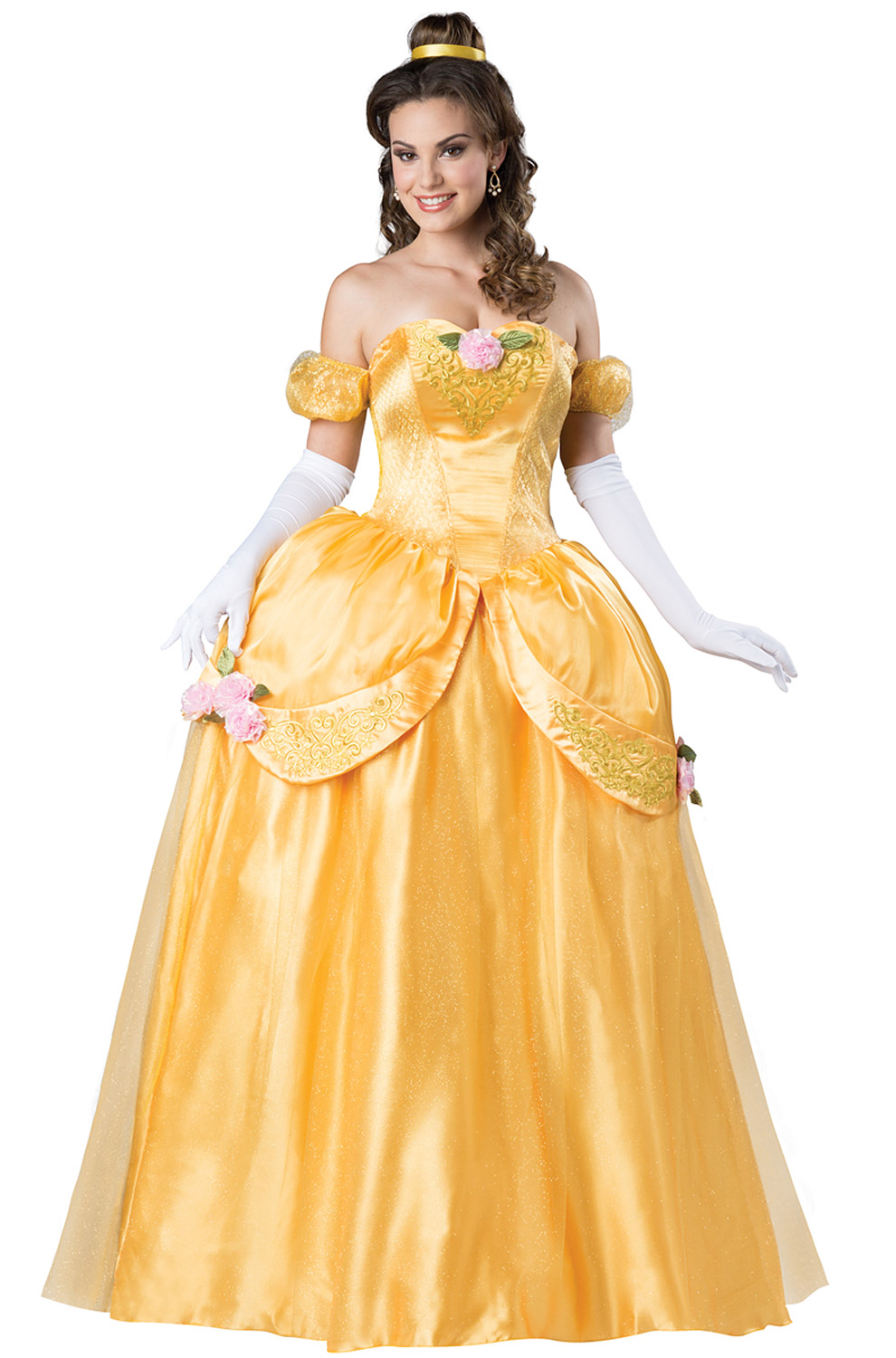 Adult storybook princess belle costume