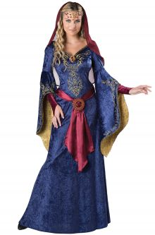 Expensive vs Affordable Costumes Elegant Maid Marian Adult Costume