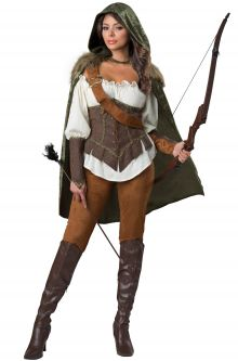 Expensive vs Affordable Costumes Enchanted Forest Huntress Adult Costume