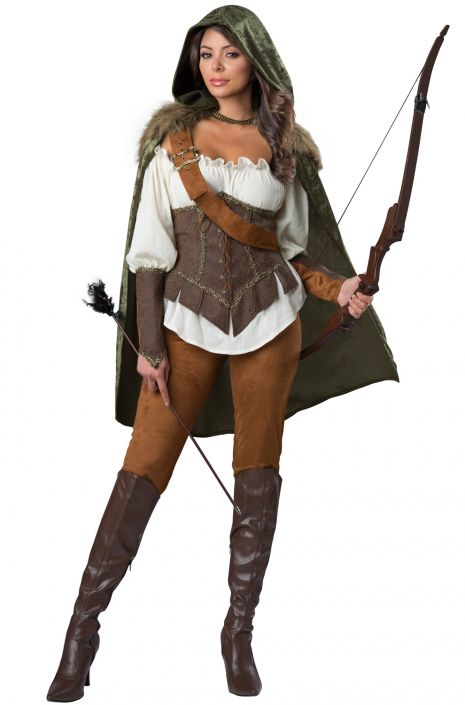 Enchanted Forest Huntress Adult Costume - PureCostumes.com