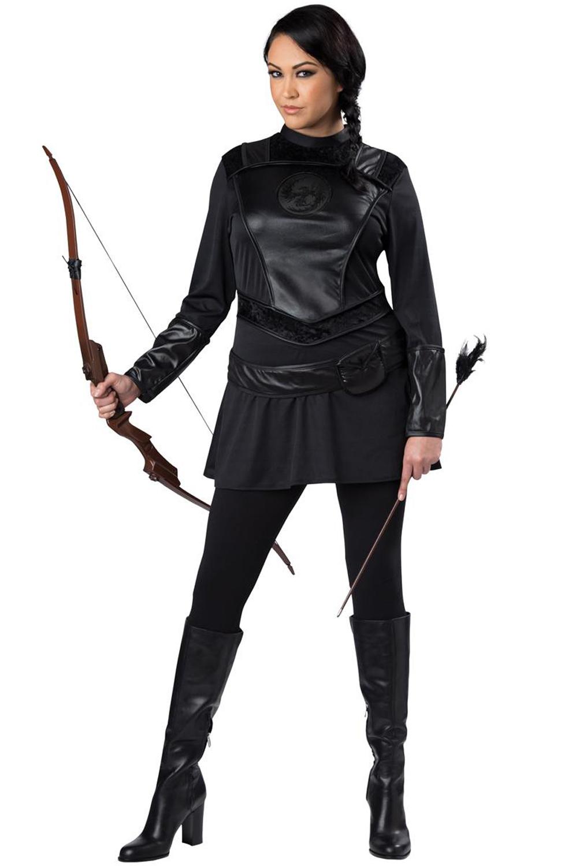 Warrior Huntress Plus Size Costume