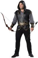 Hooded Huntsman Plus Size Costume
