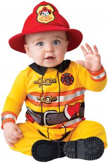 Fearless Firefighter Infant Costume