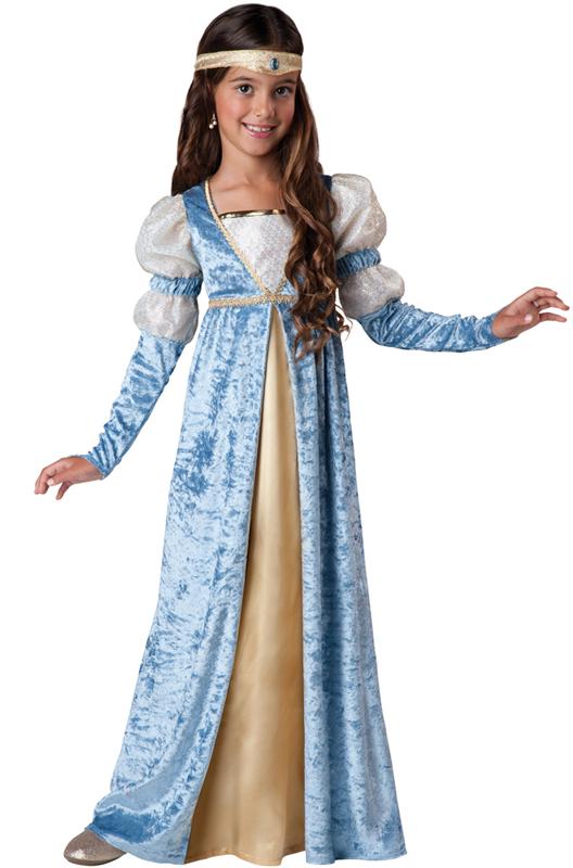Renaissance Medieval Princess Child Costume