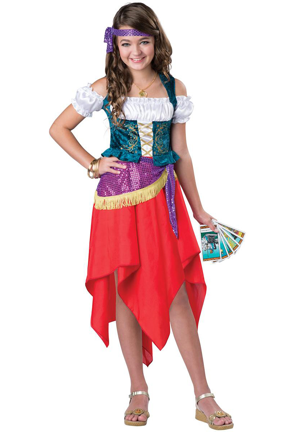 mystical gypsy child costume  purecostumes
