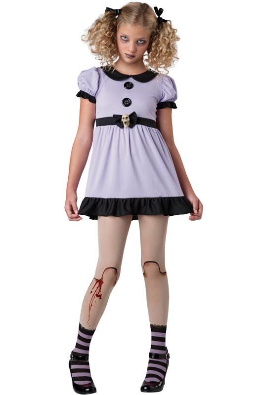 dead dolly tween costume