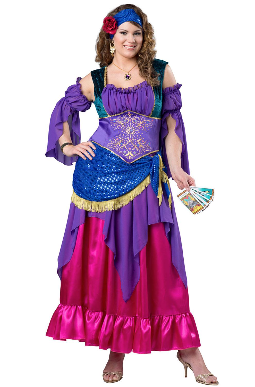 brand new gypsy treasure fortune teller women plus size