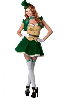 Lucky Lass Adult Costume