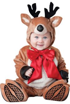 Reindeer Rascal Infant Toddler Christmas Costumes Baby's First Holidays