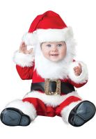 Deluxe Santa Baby Infant/Toddler Costume