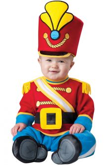 Tiny Toy Soldier Infant Christmas Costumes Baby's First Holidays