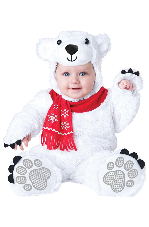 bbc5a908d3d Lil  Polar Bear Infant Costume - PureCostumes.com