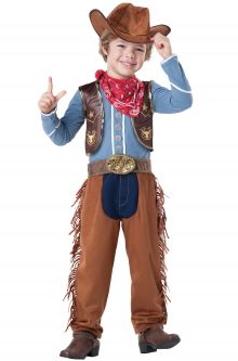 COVID-19-Appropriate costumes Cowboy Toddler Costume
