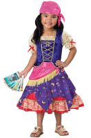 Darling Gypsy Toddler Costume