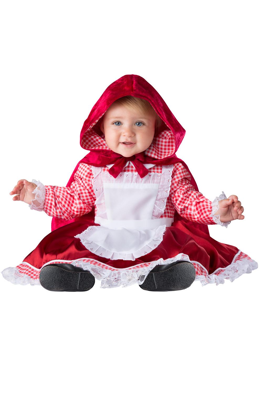 Lilu0027 Red Riding Hood Infant Costume  sc 1 st  Pure Costumes & Little Red Riding Hood Costumes - PureCostumes.com