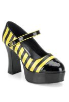 Sexy Bee Stinger Adult Platform Mary Jane Shoes