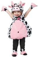 Pink Belly Cow Infant/Toddler Costume
