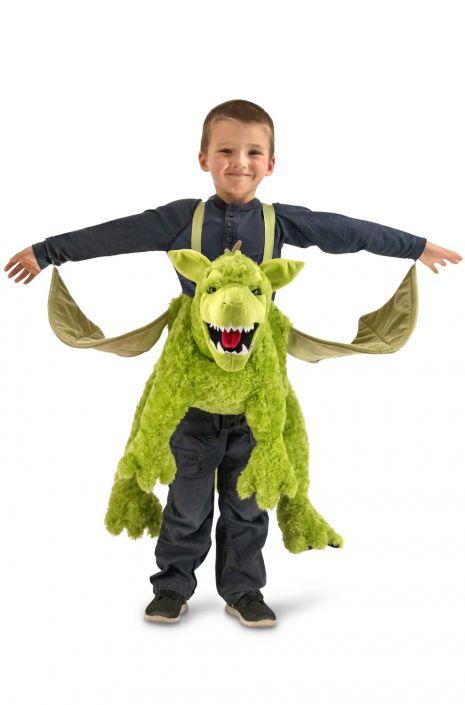 Green Ride-In Dragon Child Costume  sc 1 st  Pure Costumes & Green Ride-In Dragon Child Costume - PureCostumes.com