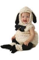 Vintage Lamb Infant Costume