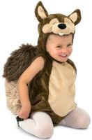 Nutty the Squirrel Toddler Costume