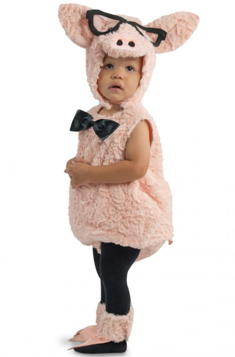 Hipster Pig Toddler Costume  sc 1 st  Pure Costumes & Hipster Pig Toddler Costume - PureCostumes.com