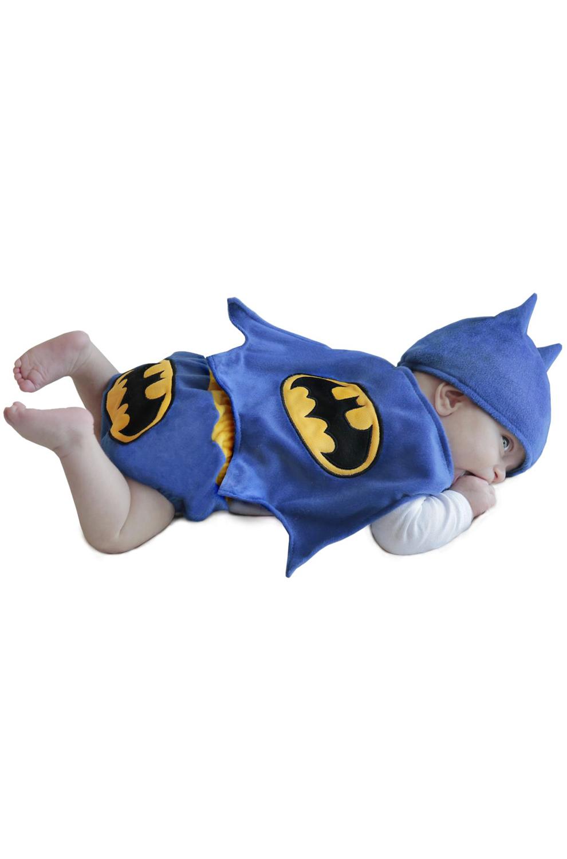 Batman Diaper Cover Set Infant Costume