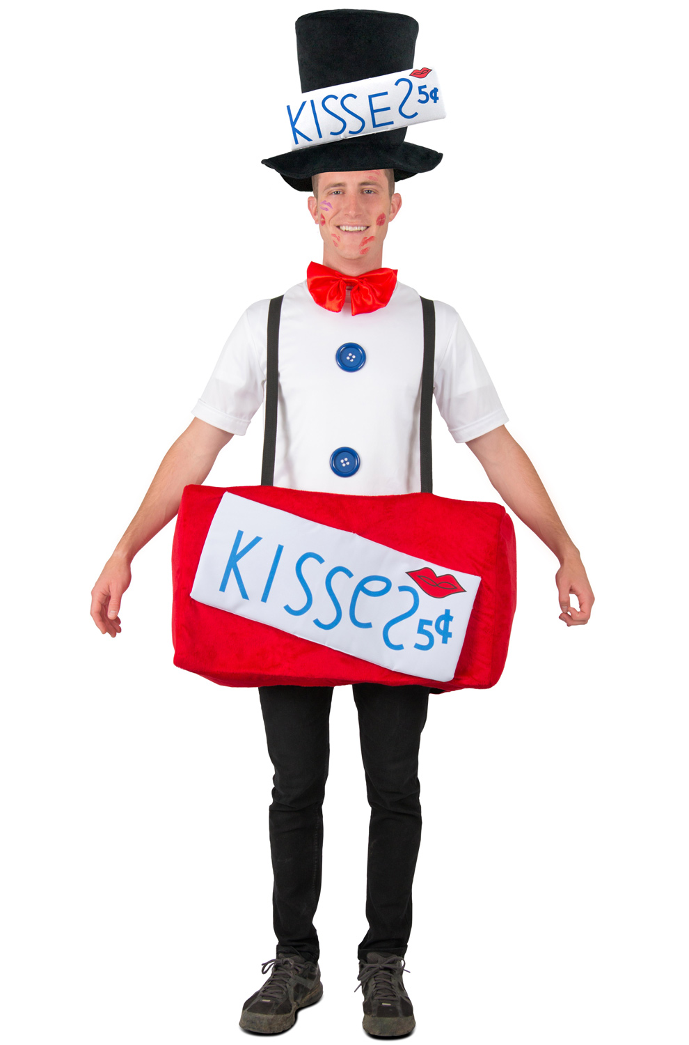 kissing booth adult costume