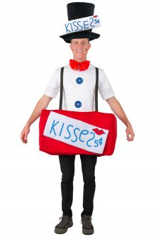 kissing booth adult costume - Valentine Costumes