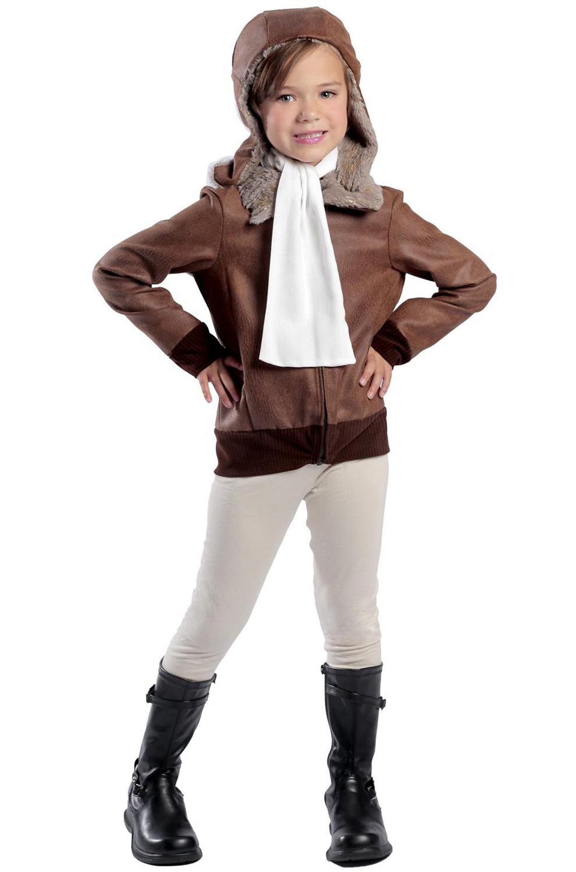 Amelia Earhart Pilot Aviator Historical Child Costume