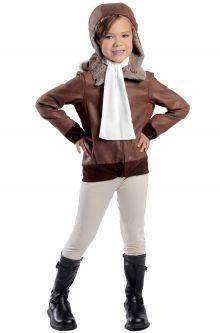 Amelia the Aviator Child Costume