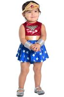 Wonder Woman Dress and Diaper Cover Infant/Toddler Costume