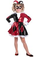 Premium Harley Quinn Dress Child Costume