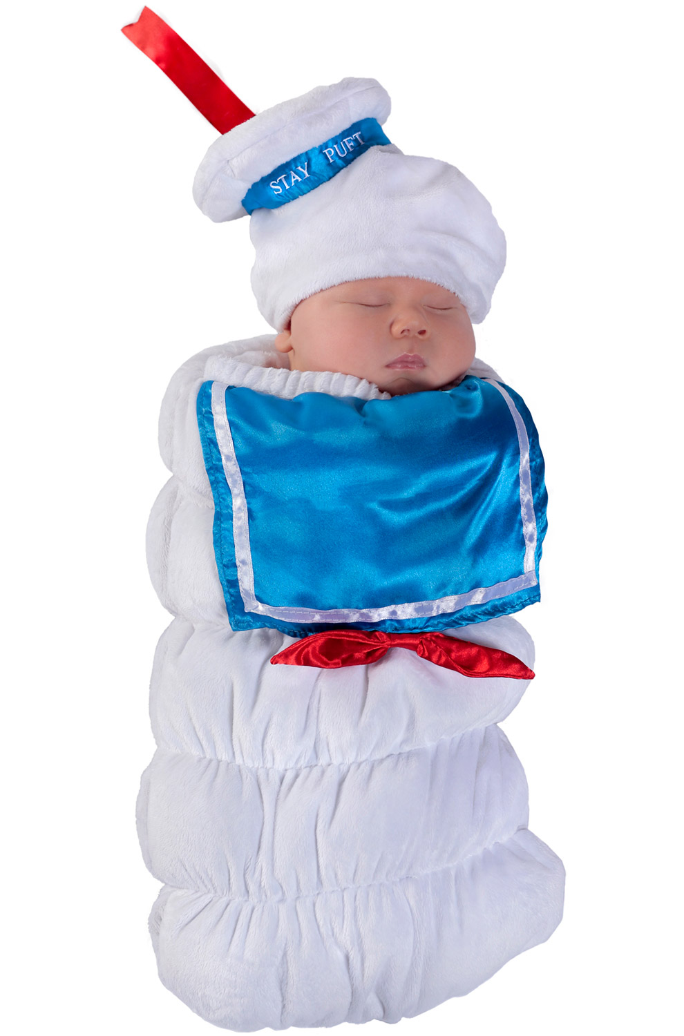 Ghostbusters Stay Puft Swaddle Infant Costume