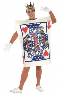 Taylor Swift Reputation Tour Costume Ideas King of Hearts Card Adult Costume