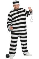 Guilty Convict Plus Size Costume